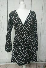 New listingUrban Outfitters Renewal Original Vintage Web Mini Floral Wrap Dress  Size S 82bda0e2b