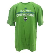 MLS Adidas Seattle Sounders FC 2017 Champions Kids Youth Size Official Shirt New