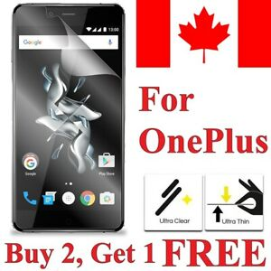 Clear Transparent Screen Protector Cover for Oneplus 7 6T 6 5T 5 3 3T One