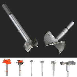 14-80mm Forstner Woodworking Boring Wood Hole Saw Cutter Drill Bits Carbide Tip
