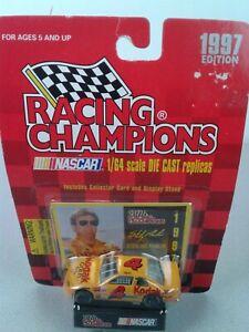 NASCAR Racing Champions #4 Sterling Marlin 1997 Kodak Gold 1:64 Taurus - NIP