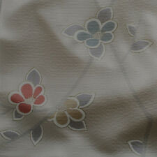 Japanese vintage kimono silk fabric Soft Camellia