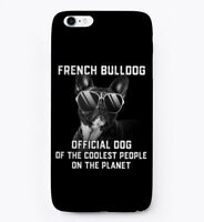 French Bulldog, Pet Of Coolest People Gift Phone Case iPhone