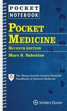 Pocket Medicine by Marc S. Sabatine (2019, Spiral, Revised edition)