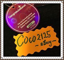 SDCC Comic Con 2017 Shopkins Shoppies Limited Edition 578/1500 BUBBLEISHA