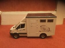 NEW (UNBOXED) LARGE BRUDER MERCEDES SPRINTER HORSE BOX TRANSPORTER
