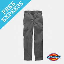Dickies Men's 873 Slim Straight Work Pant Mens Trousers Blue 36 Charcoal