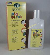 ESI RIGENFORTE PIDBLOCK Shampoo 200ml allontana Pidocchi lendini capelli lice