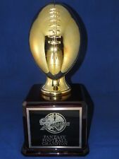Fantasy Football Trophy 30 Year Gold - Free Engraving! Ships In 1 Day!