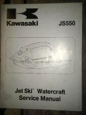 Kawasaki Service Manual 82-83 JS550 Jet Ski Water Craft