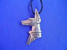 Anubis Pharaoh Hound necklace #14A Pewter Egyptian Jewelry by Cindy A. Conter