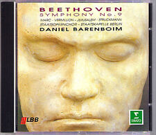 Daniel BARENBOIM BEETHOVEN Symphony No.9 Jerusalem Struckmann Vermillion Marc CD