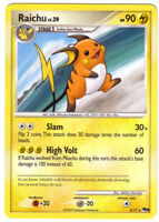 POKEMON • Raichu Lv.39 RARA • CARTA PROMO POP 9 3/17 NM