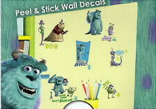 MONSTERS, INC. wall stickers 31 decals Disney Pixar Sulley Boo Mike Roz decor