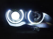 DEPO LED Angel Halo D2S Xenon HID Projector Headlight For 99-01 BMW E46 4D / 5D