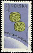 Scott # 1091 - 1962 - ' Pavel R Popovich & Andrian G Nikolayev '