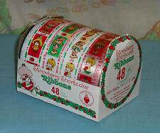 vintage STRAWBERRY SHORTCAKE GIFT WRAP RIBBONS unused in package