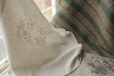 Vintage French fabric antique material PROJECT BUNDLE pillows sewing quilting