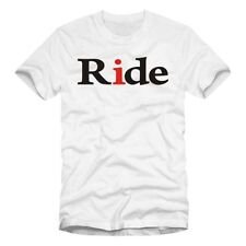Cotton Graphic Tees Motorcycle Solid T-Shirts for Men