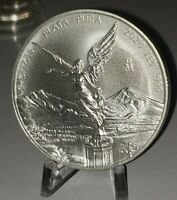 2020 Mexico Libertad 2 oz .999 Silver EXTREMELY LIMITED BU Round Bullion Coin
