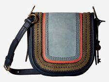 New Fossil Women's Rumi Small Leather Crossbody Bags Variety Colors