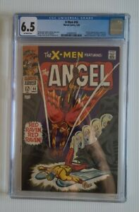 Marvel Comics X-Men 44 CGC 6.5 1st SA Red Raven