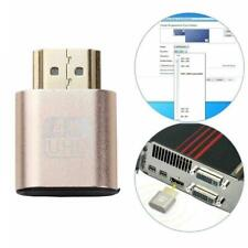 HDMI Virtual Display Adapter Dummy Plug Headless Ghost Emulator Video DDC Hot