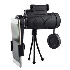 Monocula 1250 telescope Night vision + tripod + Camping Hiking clip T2