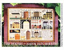 Houses of Hawk Run Hollow Cross Stitch Chart Pack - Carriage House Samplings