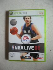 NBA Live 08 (Microsoft Xbox 360, 2007, DVD-Box) - Basketballspiel Simulation TOP
