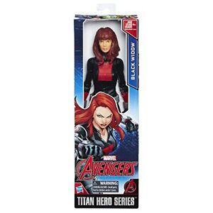 "Marvel Avengers BLACK WIDOW Titan Hero Series 12"" Inch Action Figure"