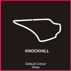 Knockhill Circuit Decal, Track, Vinyl, Sticker, Graphics, Car, N2004