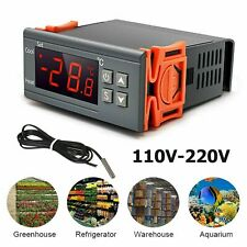 220V Digital Régulateur Thermostat Numérique Contrôleur Température LCD