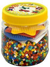 Hama Beads y Pegboards en bañera (amarillo)