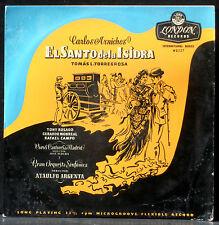 Carlos Arniches El Santo de la Isidra Argenta Rosado Monreal Campo LP NM CV EX