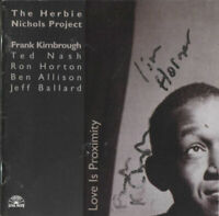 Frank Kimbrough Ron Horton Jazz Pianist Trumpeter Signed CD