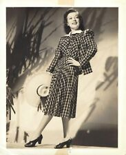 "Marta Eggerth ""POLONAISE"" John La Touche / Bronislaw Kaper 1945 Press Photo"