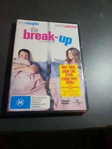The Break Up DVD R4 PAL NEW SEALED free postage