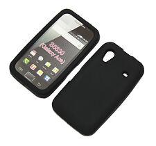 Silikon Case für Samsung S5830 Ace schwarz Tasche Etui Hülle Bag Skin Cover
