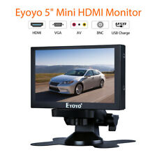 """S501H Eyoyo 5"""" LCD Car RearView Monitor with AV HDMI BNC VGA Ypbpr Support Video"""