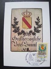 BRD,Bund Maximumkarte MiNr.980 Sonderstempel (B 164)