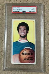1970 Topps Lew Alcindor #75 PSA 4 VG-EX Kareem Abdul-Jabbar 2nd Year Card
