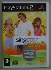 SINGSTAR POP - PLAYSTATION 2 - PAL ESPAÑA - COMPLETO - N2