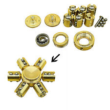 EDC Brass Hand Fidget Spinner Focus Steampunk Relax Toy For Kids/Adults US Stock