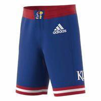 Royal Youth X-Small Blue Colosseum Kansas Jayhawks Youth NCAA Wewak Shorts