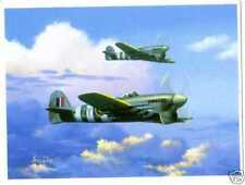 British Air Force Collectable WWII Military Prints