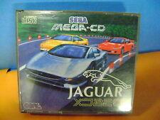 SEGA MEGA CD  JAGUAR XJ 220 GIOCO GAME