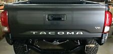2016-2017 Toyota Tacoma Premium Vinyl Decal Tailgate Letters Inserts
