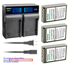 Kastar Battery LCD Rapid Charger for Olympus BLS-5 & Olympus E-PM2 EPM2 Camera