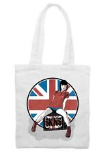 Skinhead Girl Union Jack Cotton Shoulder Shopping Bag - Oi Oi Skins Mod